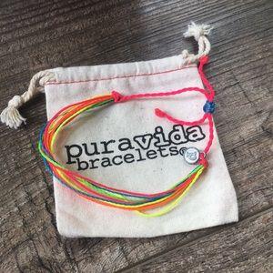 Pure Vida LGBT String Bracelet